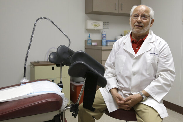 Dr. Howard Novick says new abortion restrictions in Texas could force him to close the Hou