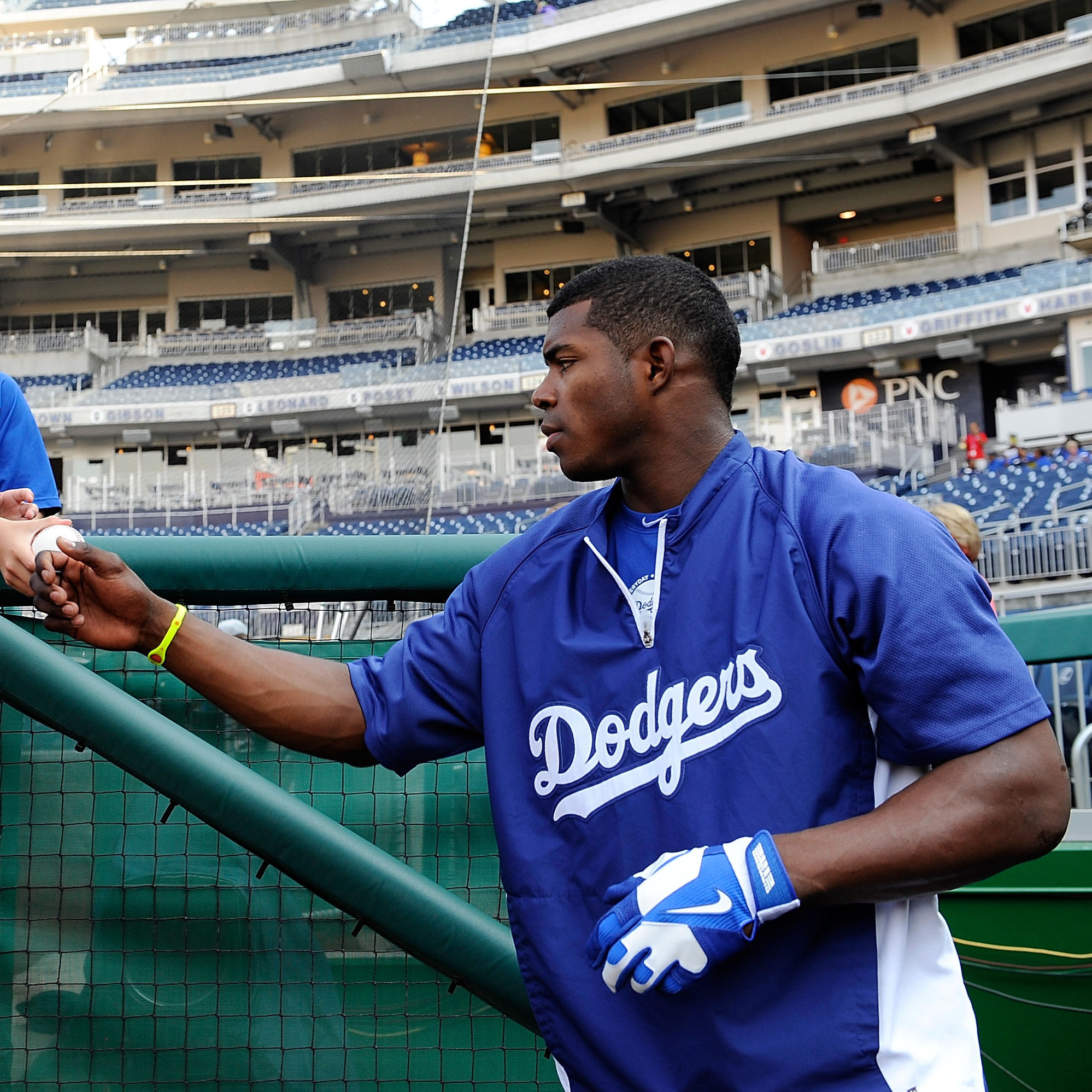 Yasiel Puig, who defected from Cuba, is having an outstanding season with the Los Angeles Dodgers. Puig has repeatedly declined to say how he left the island. Some media reports have suggested he was smuggled off the island, which is an increasingly common practice, according to U.S. baseball agents.
