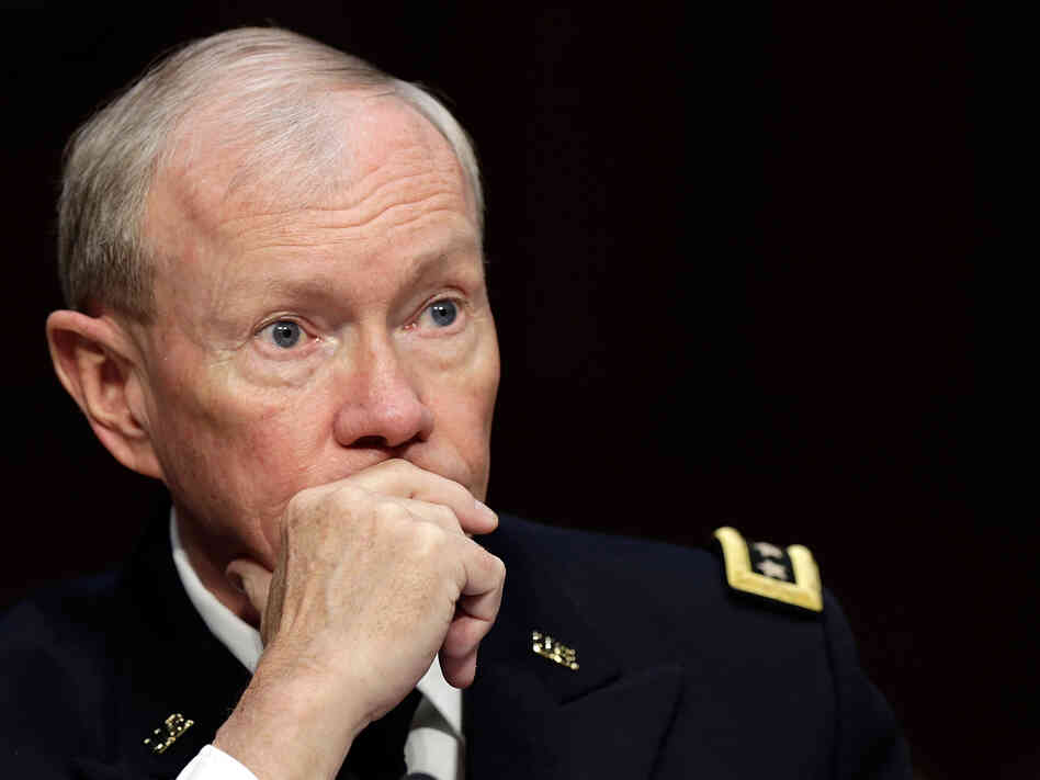 Chairman of the Joint Chiefs of Staff Gen. Martin Dempsey.