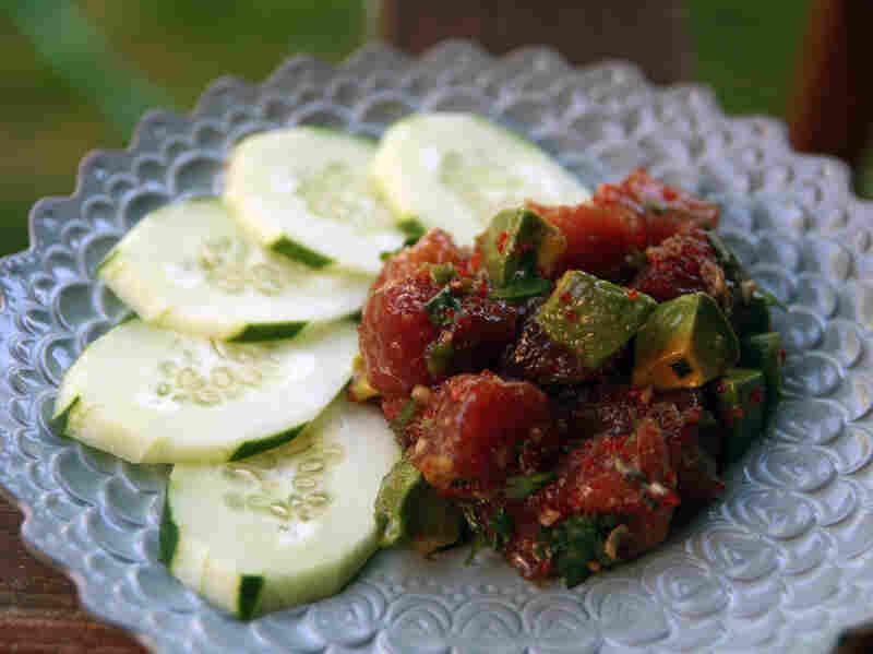 Avocado Ahi Poke