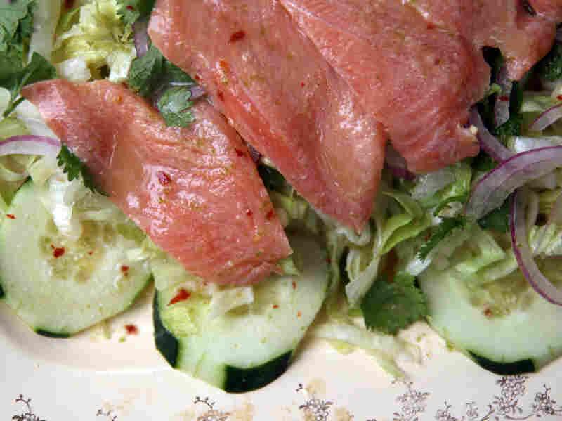 Cambodian Salmon Salad