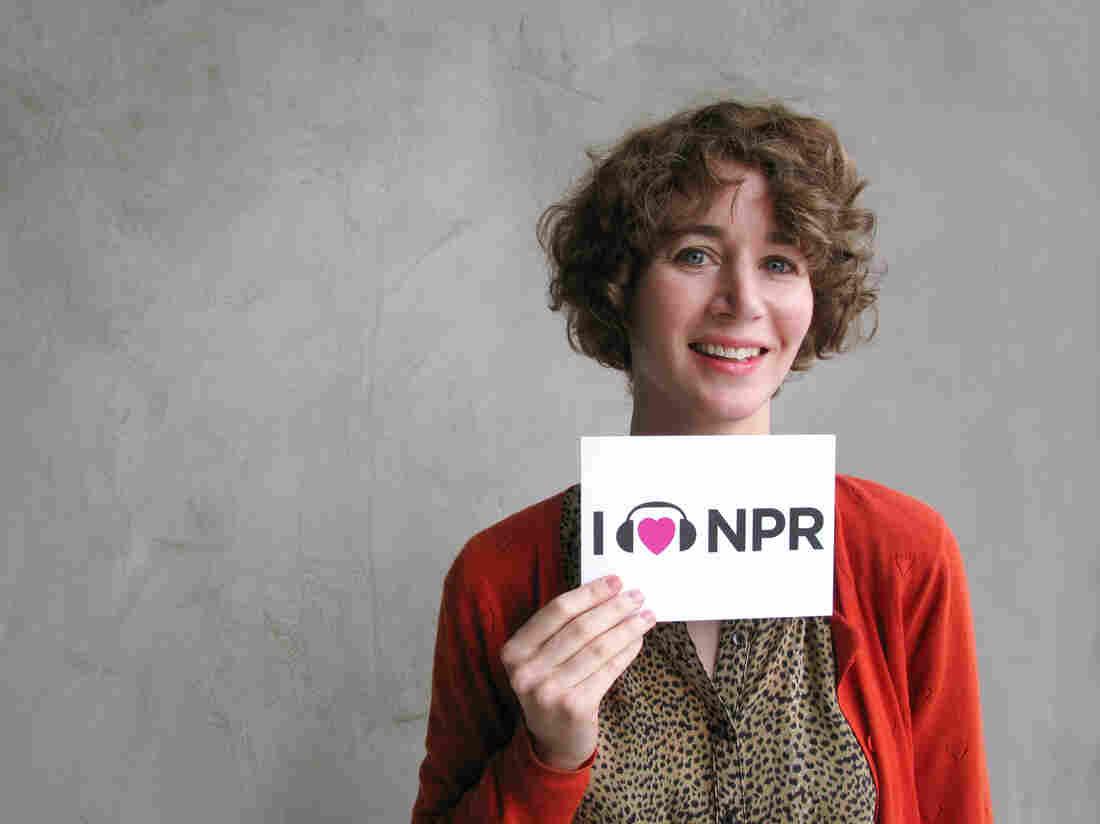 Miranda July at NPR West.