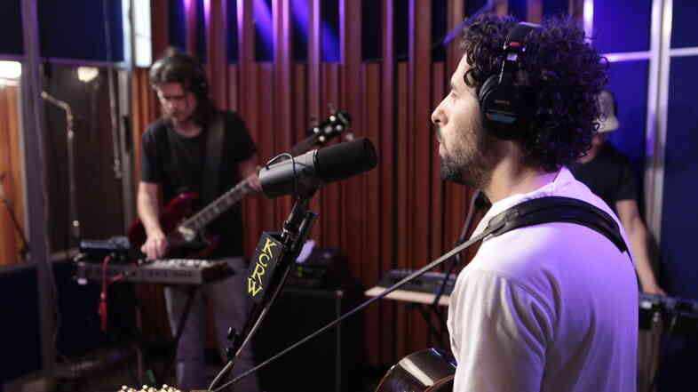 Junip performs live on KCRW's Morning Becomes Eclectic.
