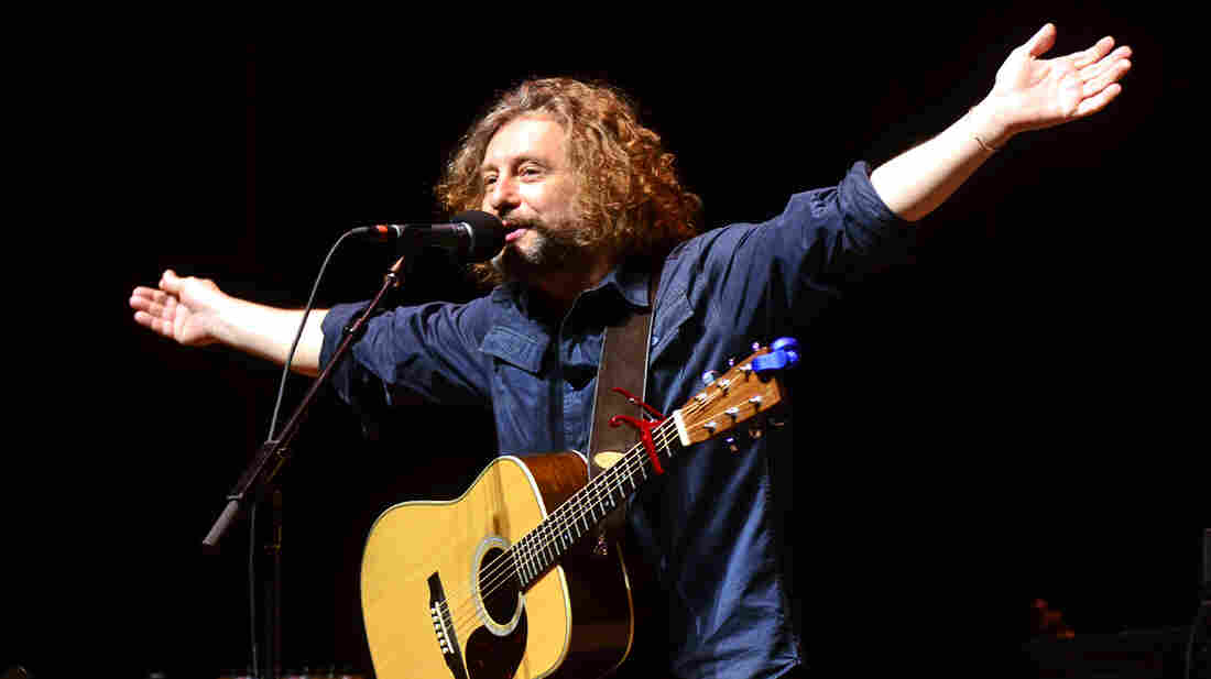 James Maddock performs on Mountain Stage.