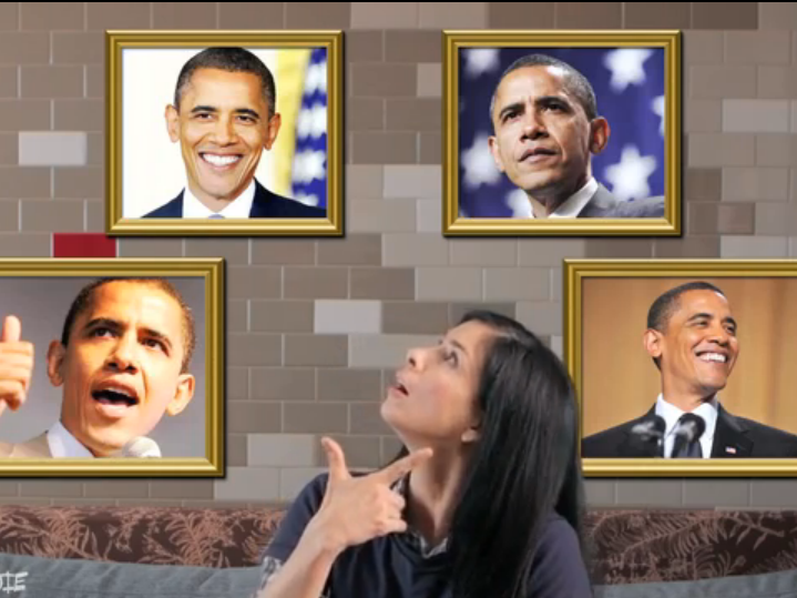 Comedian Sarah Silverman helped get out the vote for Obama in 2008 and 2012.