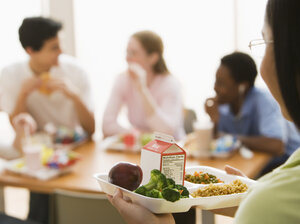 The next time you are in an office cafeteria, notice who sits next to whom at lunch.