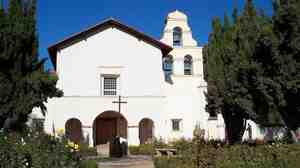 San Juan Bautista Mission in California, the inspiration for Kevin Puts' Symphony No. 4.