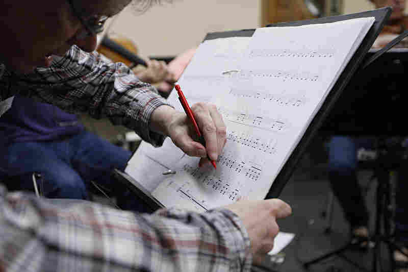 Working collaborations with living composers mean edits to the scores — even mid-rehearsal — as performers figure out what works and what might need further revision or clarification.