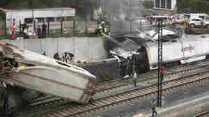 Train Derailment In Spain Leaves Dozens Dead