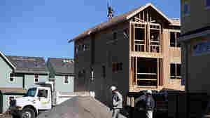 A new home that was under construction earlier this year in San Mateo, Calif.