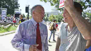 Rep. Steve King, an Iowa Republican, is taking heat for comparing many young immigrant DREAMers to drug mules.
