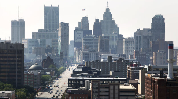 Philanthropic and business leaders have come together to revive the core of Detroit, which recently filed for federal bankruptcy protection.