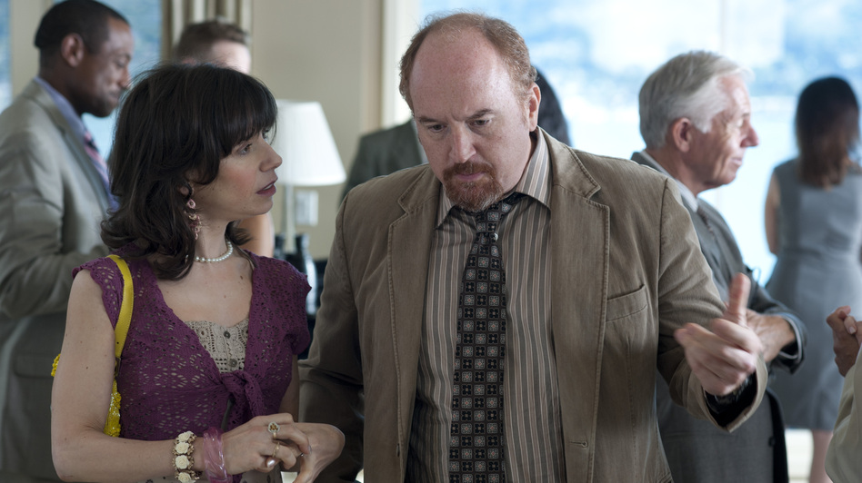 Jasmine takes present-day Ginger to a party where she's reeled in by the smooth-talking Al (Louis C.K.), who seems to provide Ginger everything her lug of a boyfriend back home doesn't. (Sony Classics )