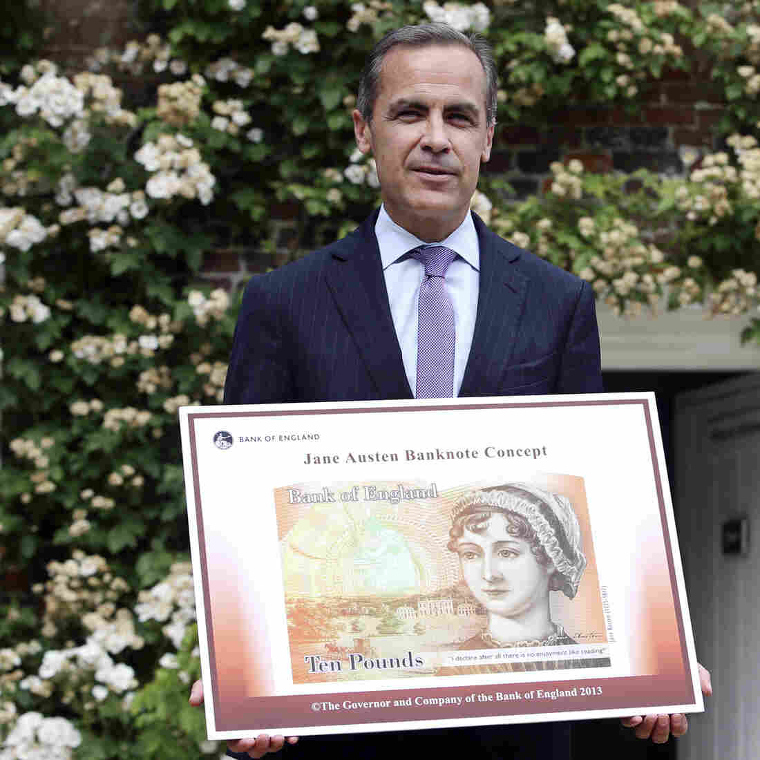 Book News: Jane Austen To Replace Darwin On The 10-Pound Note