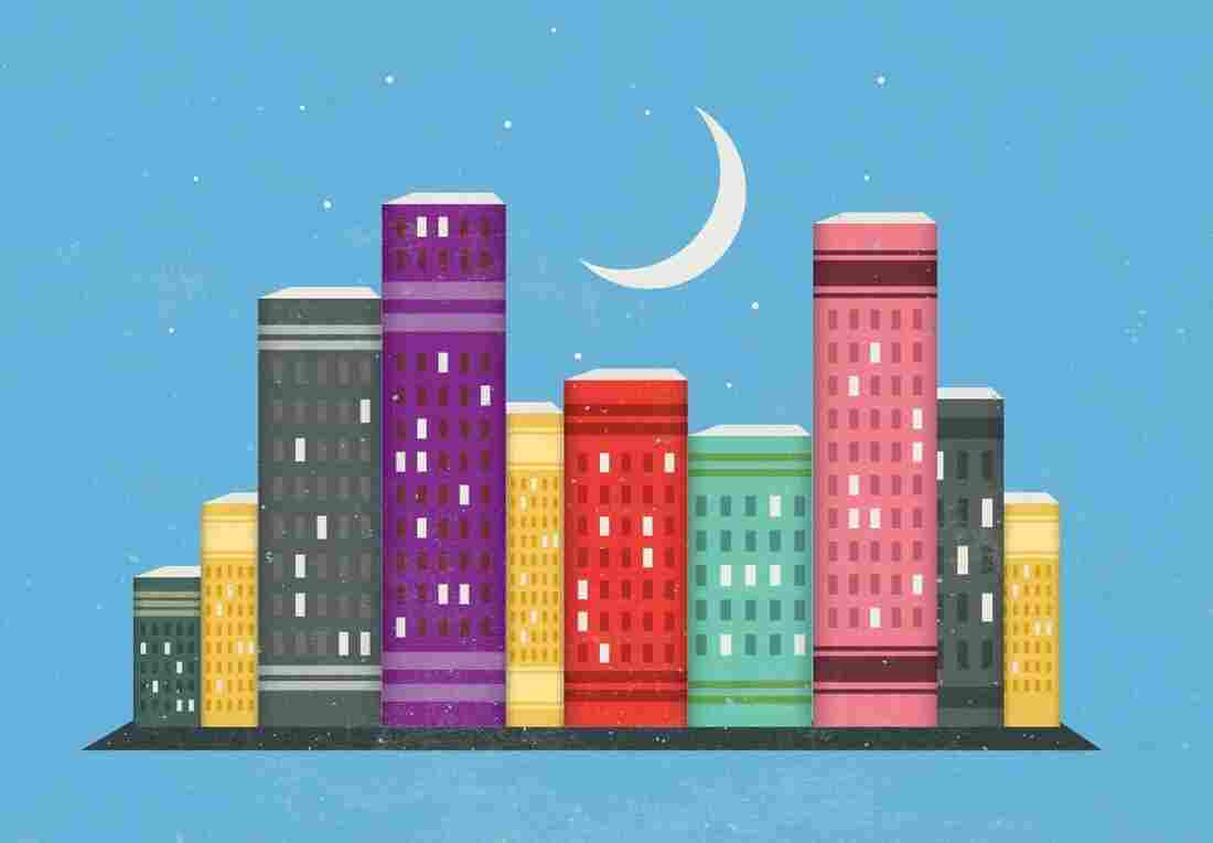Illustration: Books As Cities