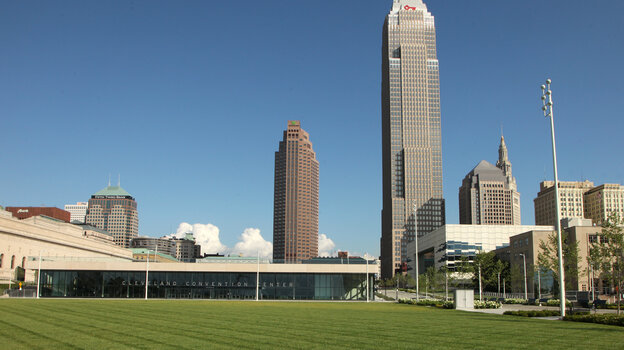 The new Cleveland Convention Center is hosting