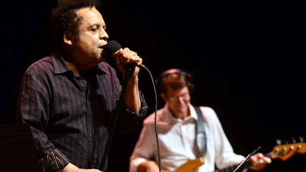 Garland Jeffreys performs on Mountain Stage.