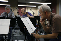 The Kronos Quartet's David Harrington, John Sherba and Hank Dutt in rehearsal at Carroll Studios in New York Tuesday.