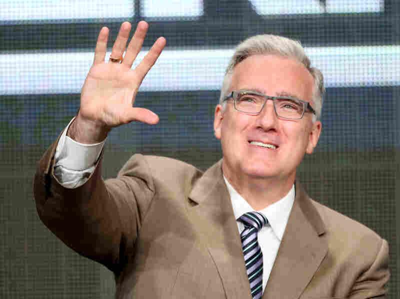 Keith Olbermann speaks onstage during th