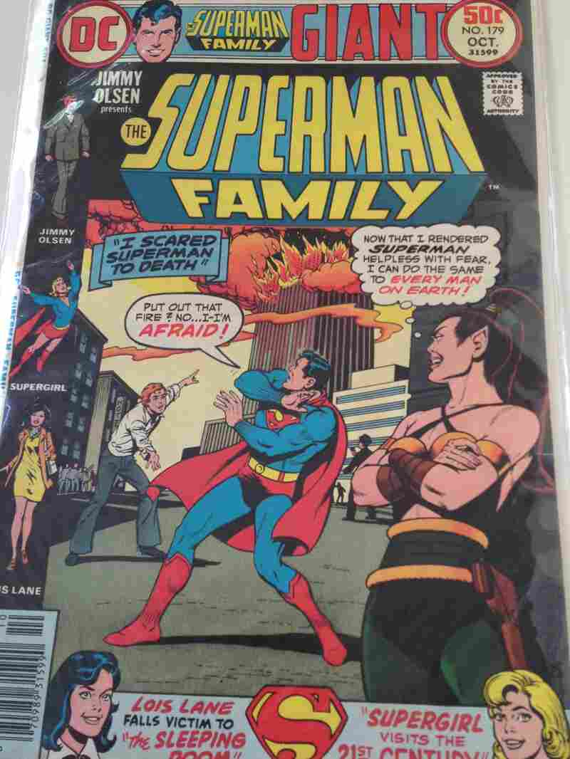 Superman Family issue #179 was originally published on October 1976.