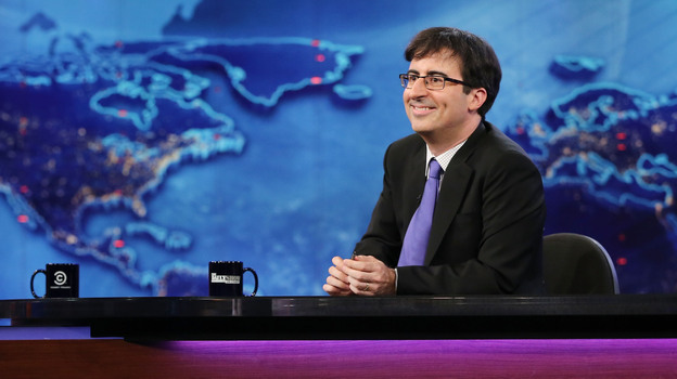 John Oliver is filling in as the summer guest host of The Daily Show. His own stand-up show on Comedy Central is returning for a fourth season. (Getty Images)