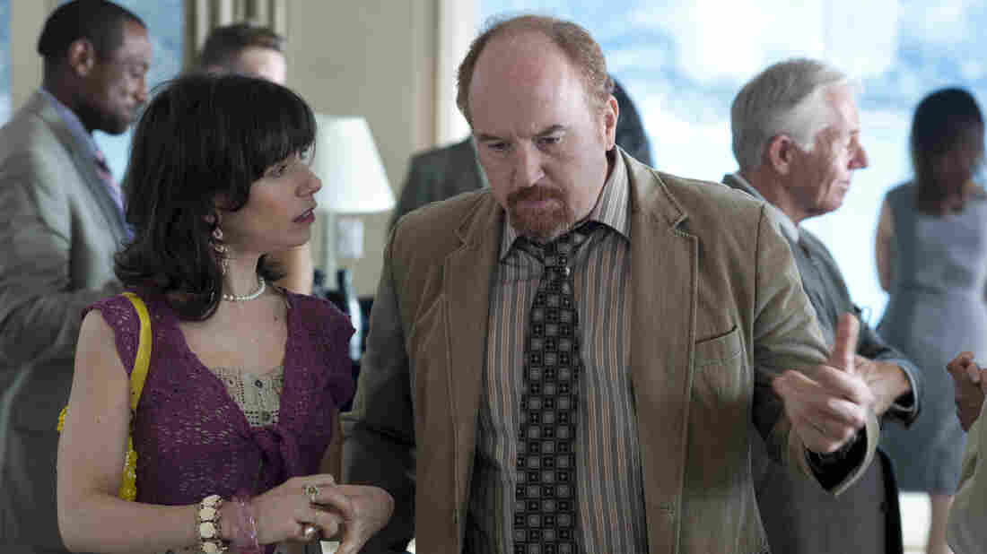 Ginger's (Sally Hawkins) best moments happen while in the company of a persistent suitor named Al (Louis C.K.).