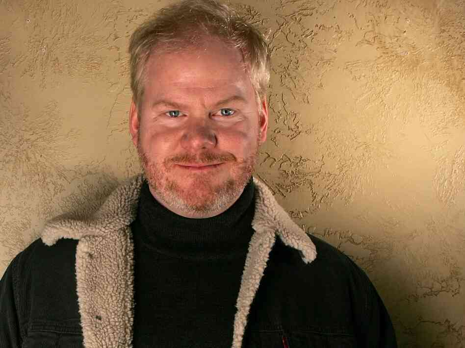 Jim Gaffigan poses during the 2006 Sundance Film Festival in Park City, Utah.