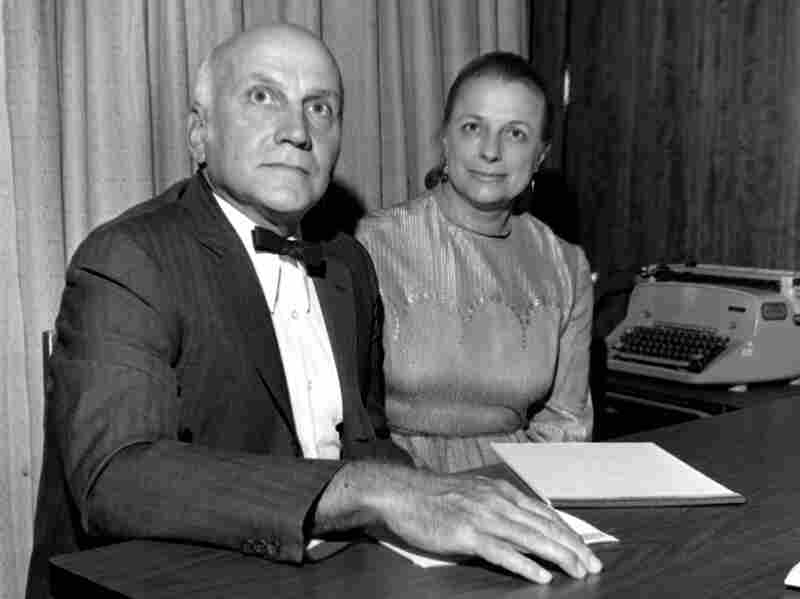 Johnson with her fellow researcher and sometimes husband, William Masters. The pair helped legitimize the study of human sexuality.