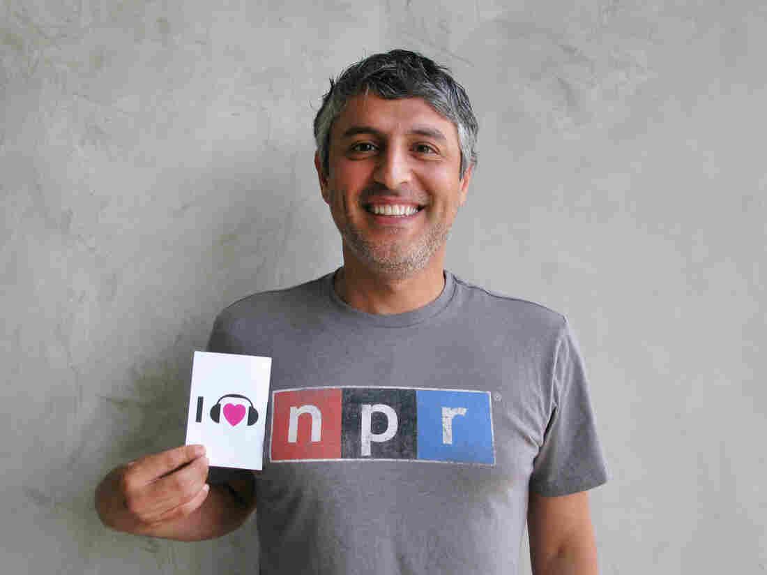 Reza Aslan at NPR West.