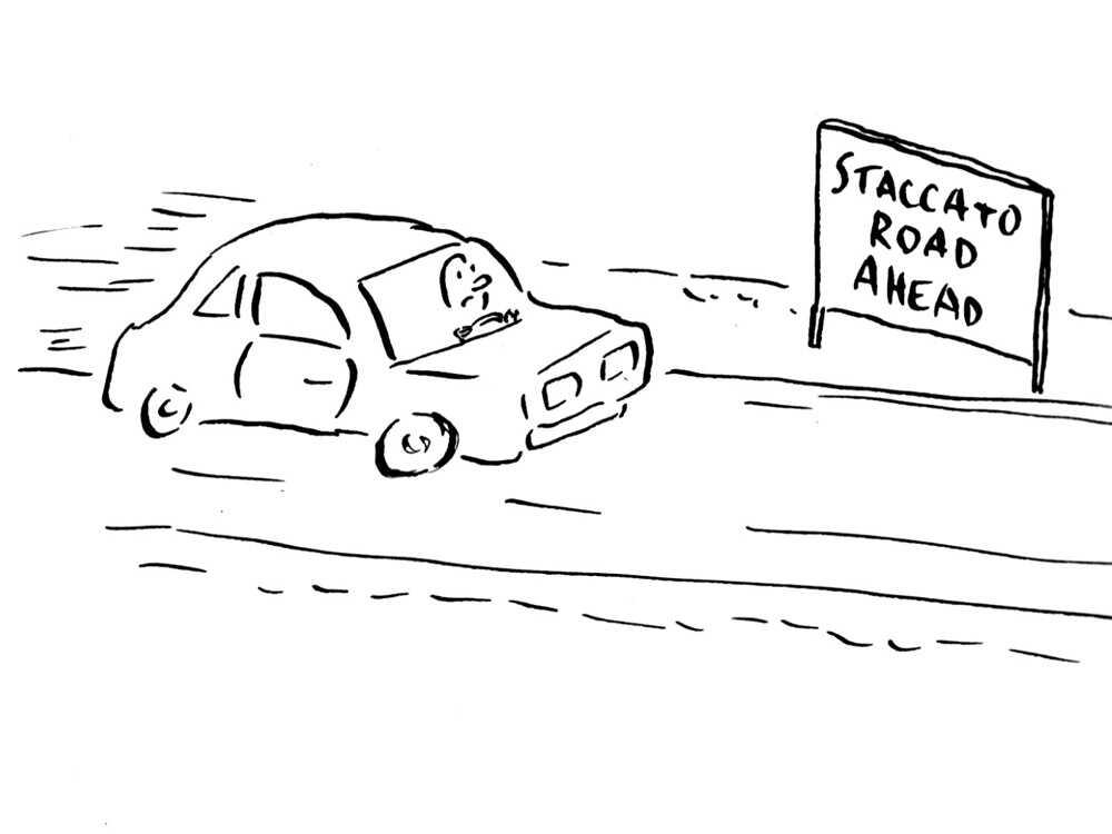 New Traffic Signs Near Tanglewood.
