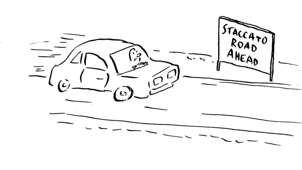 New Traffic Signs Near Tanglewood
