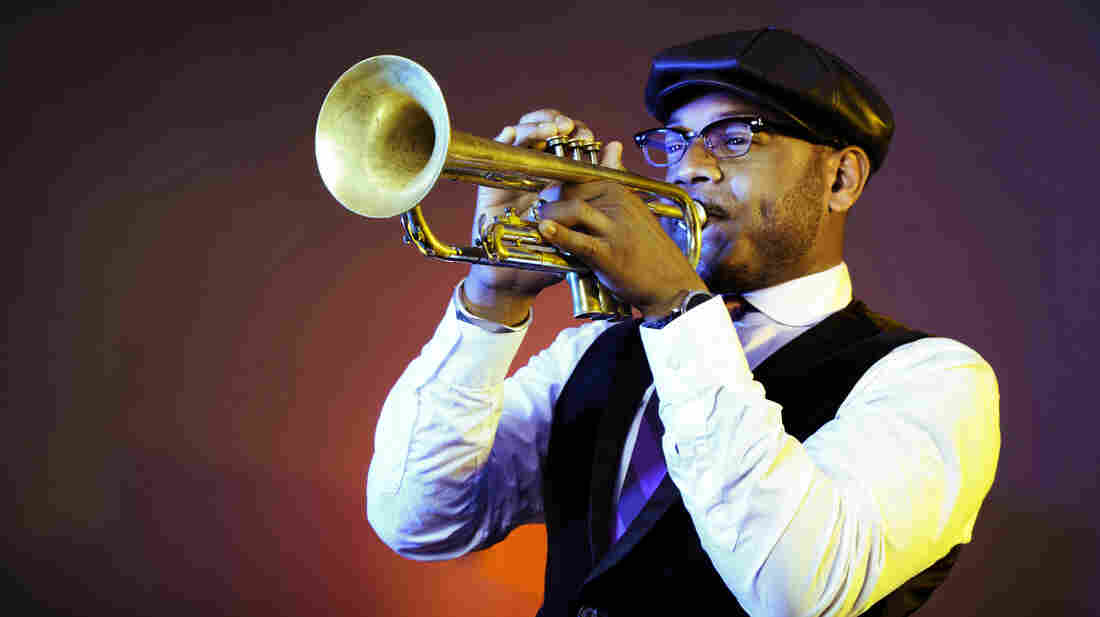 Trumpeter Etienne Charles' new album is called Creole Soul.