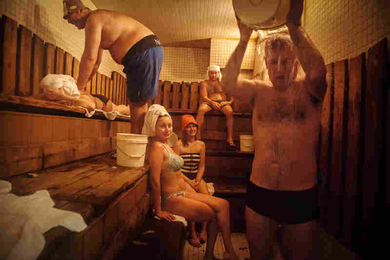 The oldest Russian sauna in Brighton Beach, January 2013.
