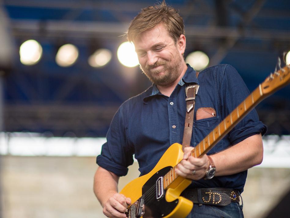 JD McPherson performs at the 2013 Newport Folk Festival.