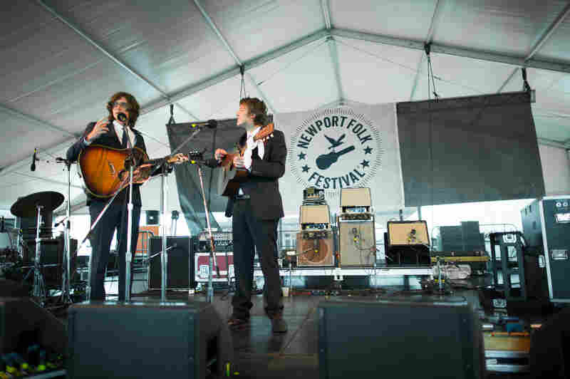 Half Simon & Garfunkel and half Smothers Brothers, Joey Ryan and Kenneth Pattengale's melancholic harmonies intertwine beautifully as The Milk Carton Kids, while their playful, deadpan banter is worth the price of admission on its own.