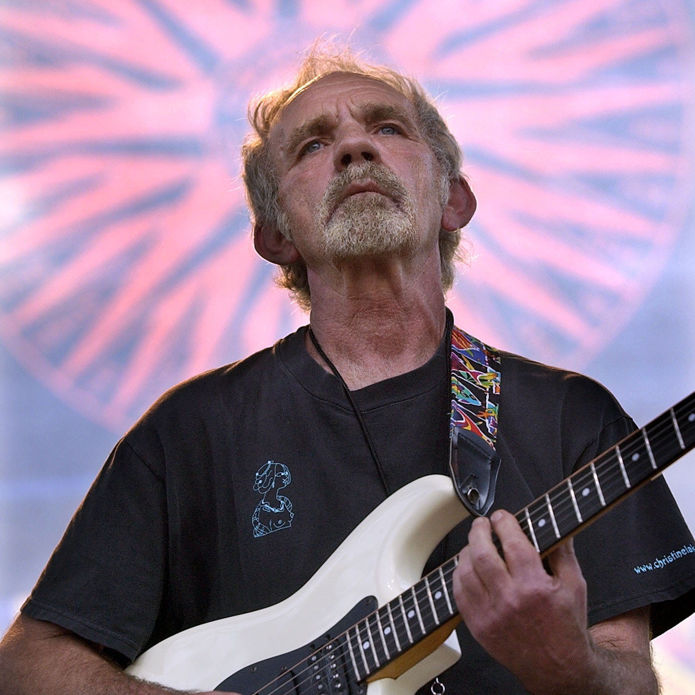Singer songwriter J.J. Cale plays on stage during the Eric Clapton Crossroads Guitar Festival, in June 2004, in Dallas.