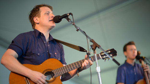 Hey Marseilles performs at the 2013 Newport Folk Festival.
