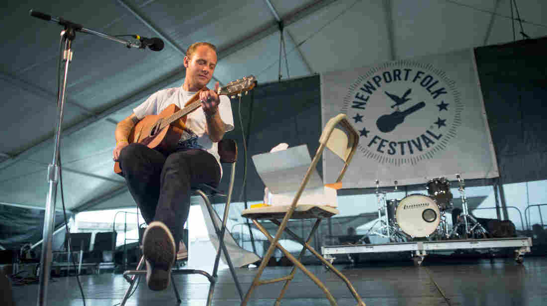 John McCauley performs at the 2013 Newport Folk Festival.
