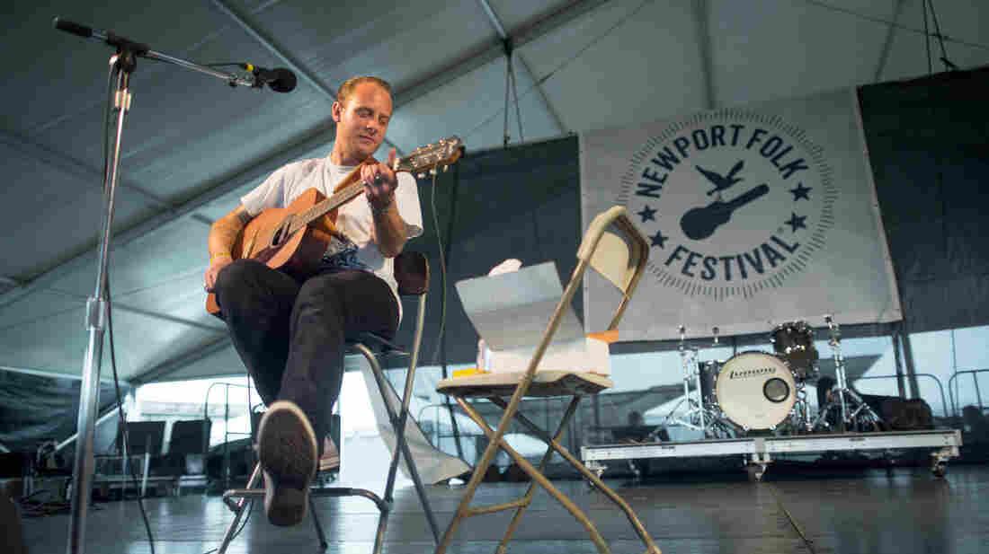 John McCauley performs at the 2013 Newport Folk Festival.