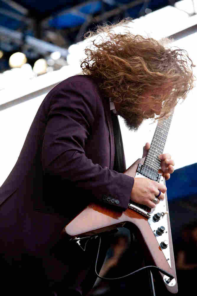 Ever the showman, My Morning Jacket frontman Jim James plays a solo set as wild as his hair.