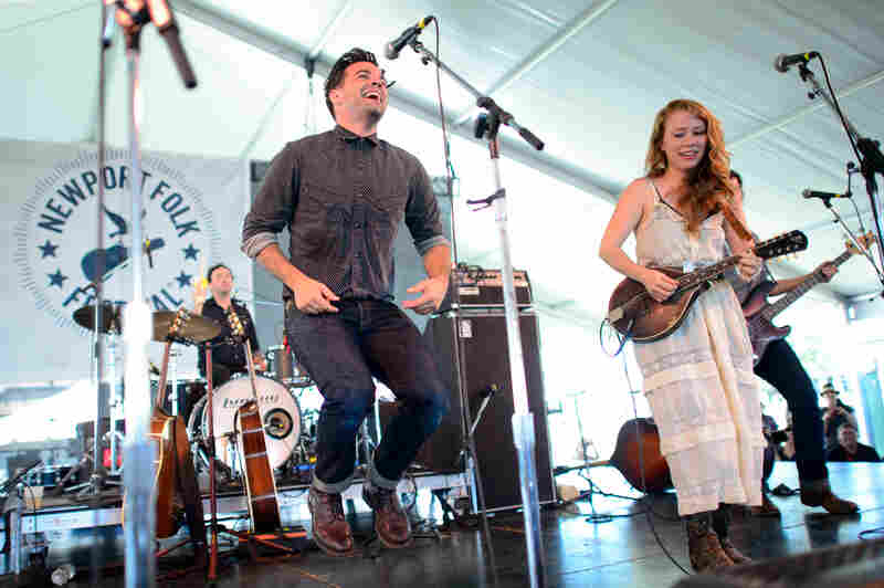 "The Lone Bellow radiates charm and intensity at Newport, but also serves some earnest cheese with an impromptu cover of the late '90s Edwin McCain hit ""I'll Be."""