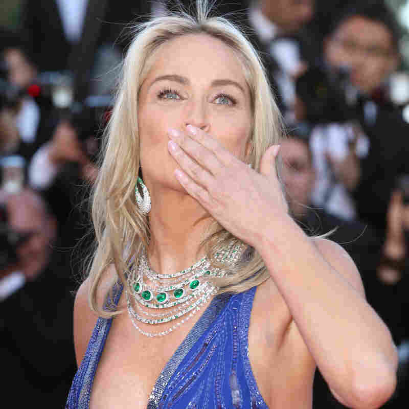 Actress Sharon Stone at the 66th international film festival in Cannes in May. The Mediterranean resort town is famous for the jewelry-clad celebrities it attracts.