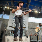 The Avett Brothers perform at the 2013 Newport Folk Festival.