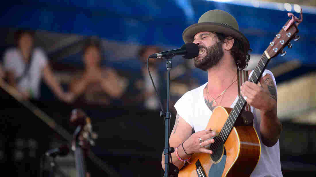 Langhorne Slim & The Law performs at the 2013 Newport Folk Festival.
