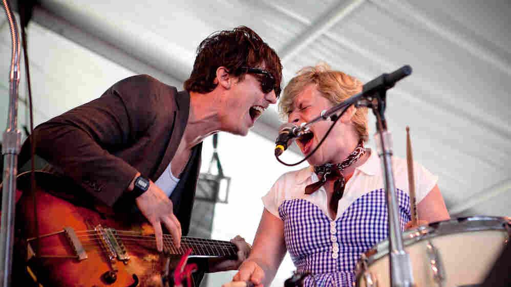 Shovels & Rope perform at the 2013 Newport Folk Festival.