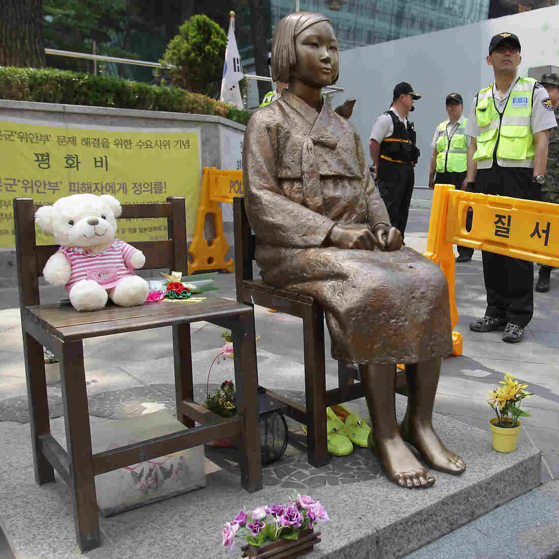 Statue Brings Friction Over WWII Comfort Women To California