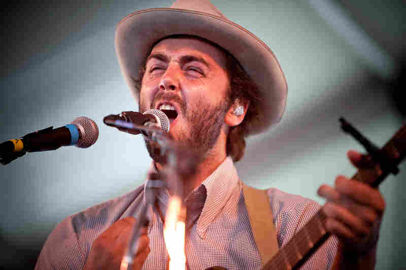 The L.A. band Lord Huron blends the choirboy folk of Fleet Foxes with the more roiling, polyrhythmic pursuits of Vampire Weekend.