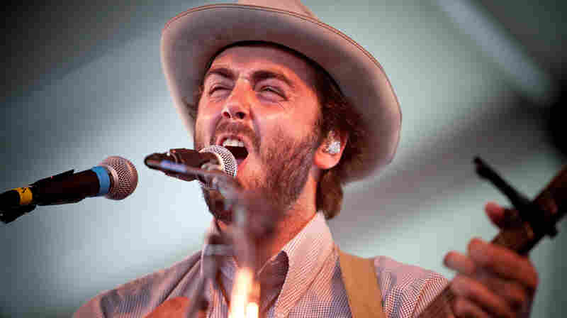 Lord Huron performs at the 2013 Newport Folk Festival.