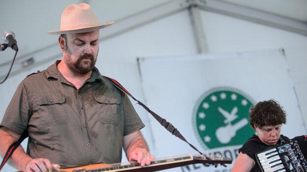 Black Prairie performs at the 2013 Newport Folk Festival.
