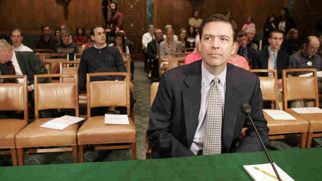 Former Deputy Attorney General James B. Comey waits to testify before the Senate Judiciary Committee in Washington on May 15, 2007. NPR has learned that Comey is in line to become President Obama's choice as the next FBI director.